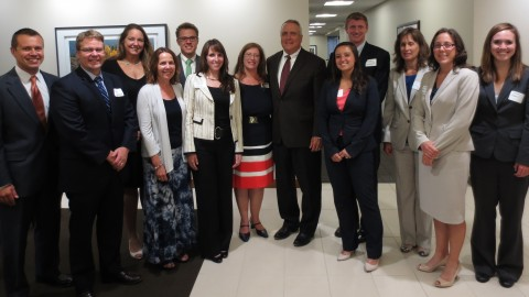2014 SARP Participants with Governor Ritter
