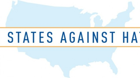 50 States Against Hate Logo